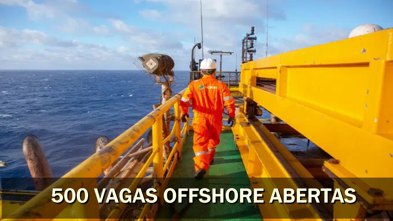 emprego - vagas offshore - petrobras - ocyan mexilhão - merluza - manutenção