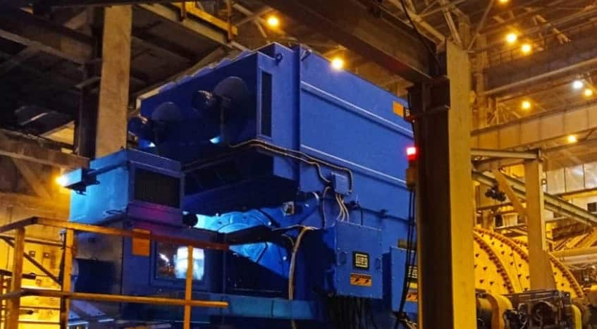 WEG motores elétricos fábrica cimento