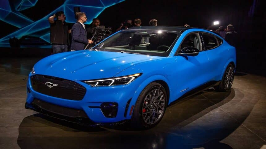 Mustang - carro elétrico - Ford