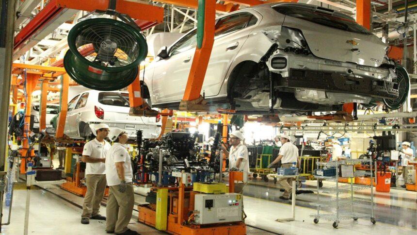 Chevrolet - Volkswagen - Ford - Onix - General Motors - GM - Yamaha - Fiat - Honda - Gol - Voyage - Fox - SP - fábrica - produção - Audi - Renault - Spim