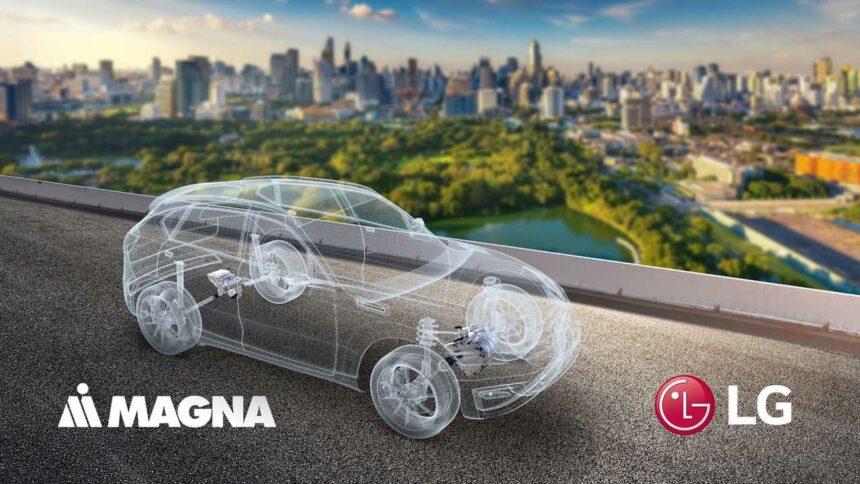 LG - Smartphones - carros elétricos - automotivo