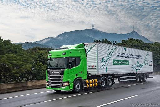 Scania – gás – caminhões