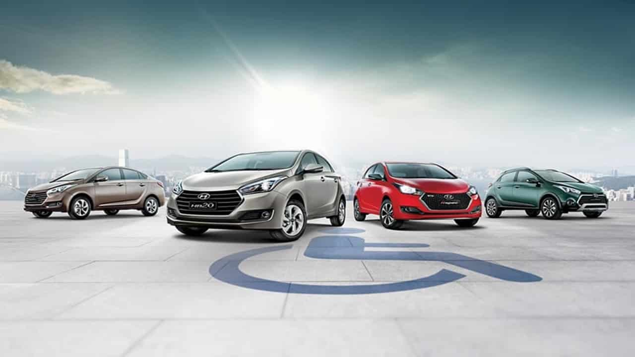 Volkswagen - Chrevrolet - Honda - Fiat - Toyota - Nissan - Peugeot - preço - etanol - pcd - carros pcd