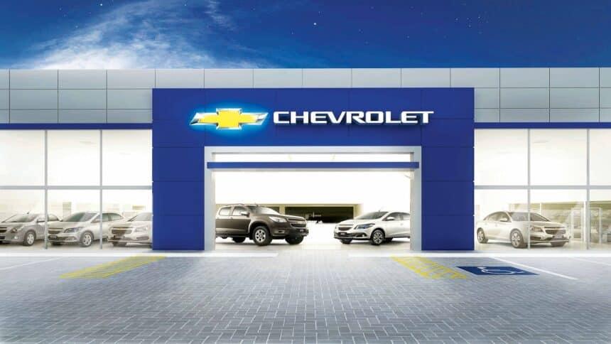Chevrolet - carros elétricos - concessionárias