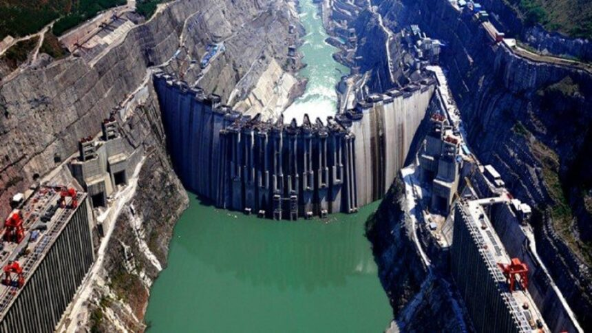 China - usina - hidrelétrica -