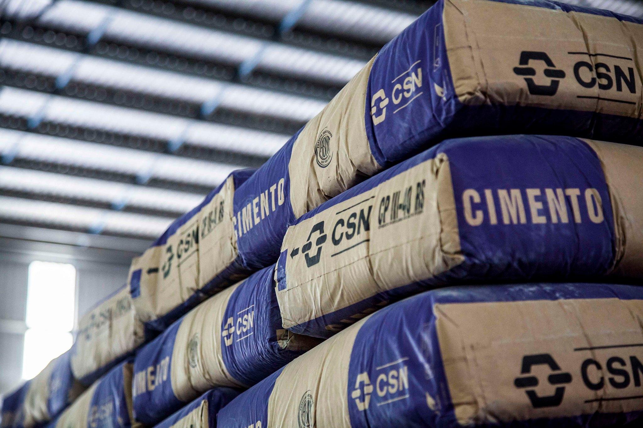 CSN – fábrica – cimento