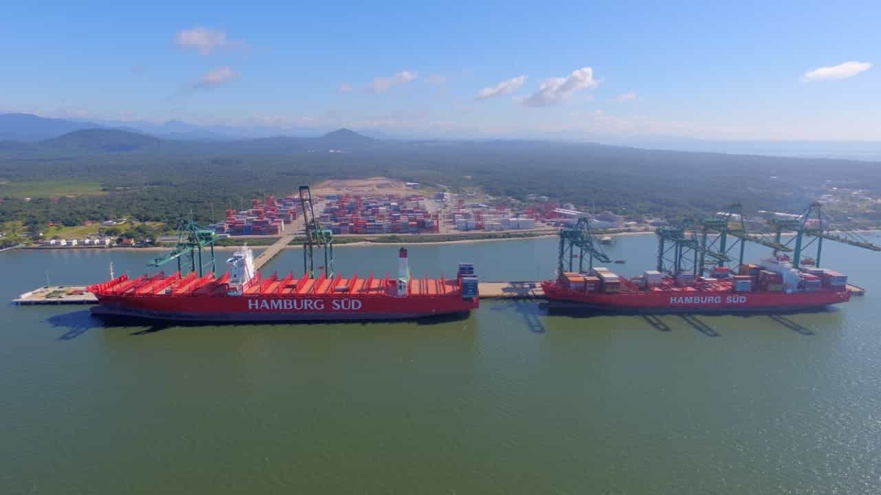 Santa Catarina – complexo portuário – empregos