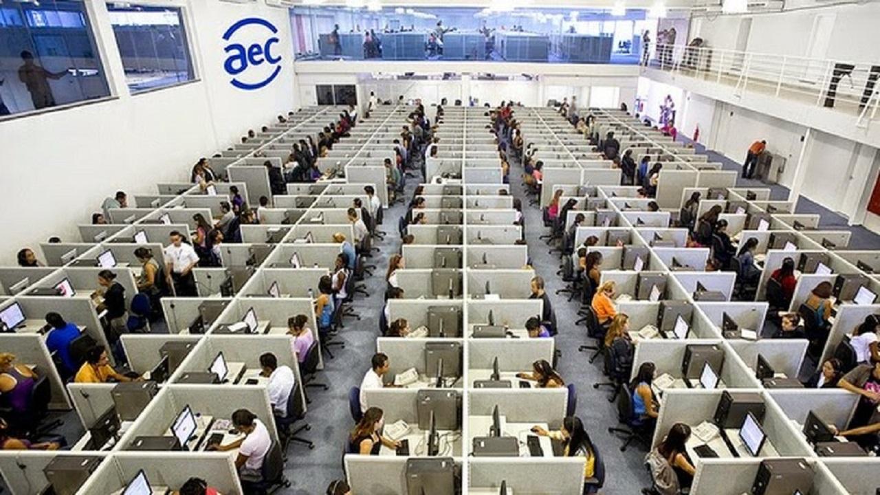 Vagas de emprego - AEC - telemarketing - Paraíba - home office