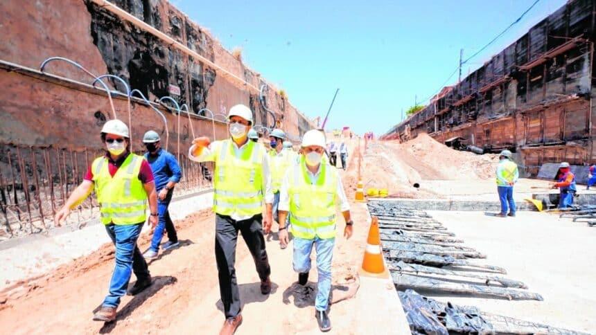 obras - emprego - construção - acciona - metrô - são paulo