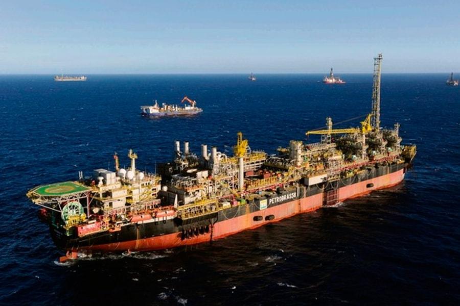 Petrobras – pré-sal – Bacia de Santos – FPSO