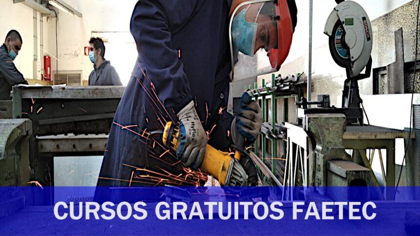 Faetec - cursos gratuitos - cursos técnicos - cursos de qualificação - rj - vagas - fundação