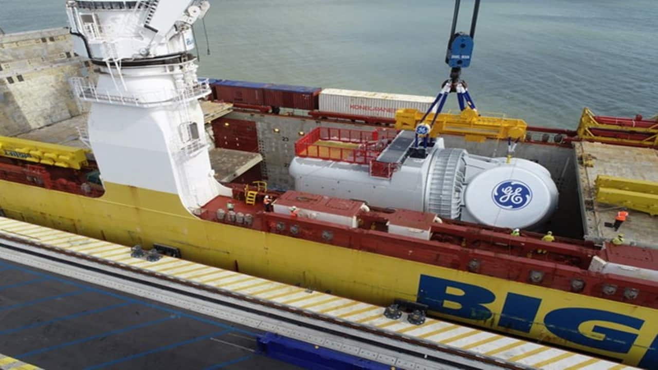 turbina - General Electric - Renewable - usina - eólica offshore - emprego