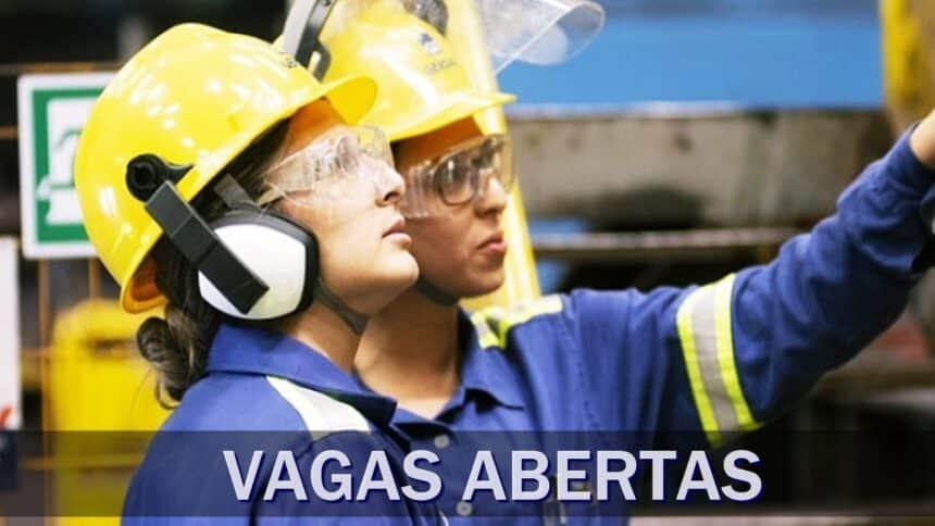 aço - gerdau - emprego - são paulo - vagas - operador - indústria - siderúrgica - ensino médio - manutenção - mecânica - elétrica - sem experiência