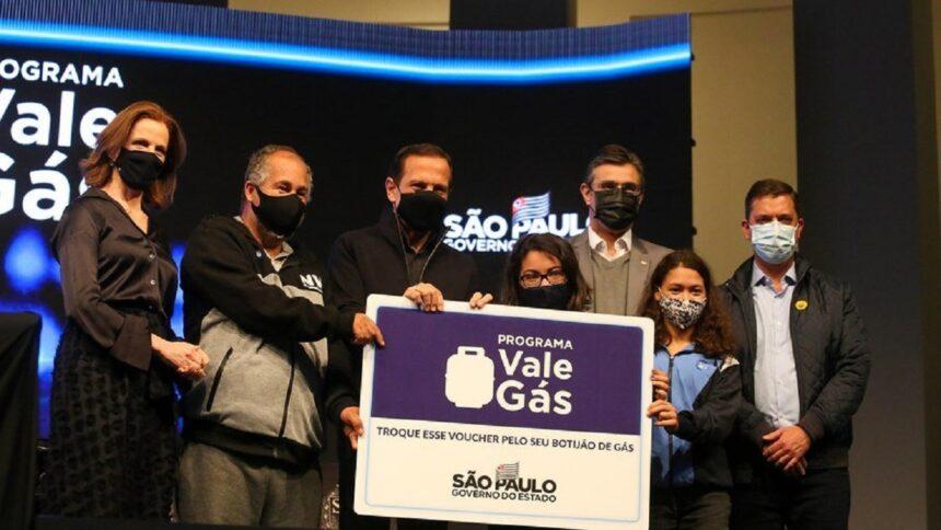 SP - Governador - Vale gás - baixa renda