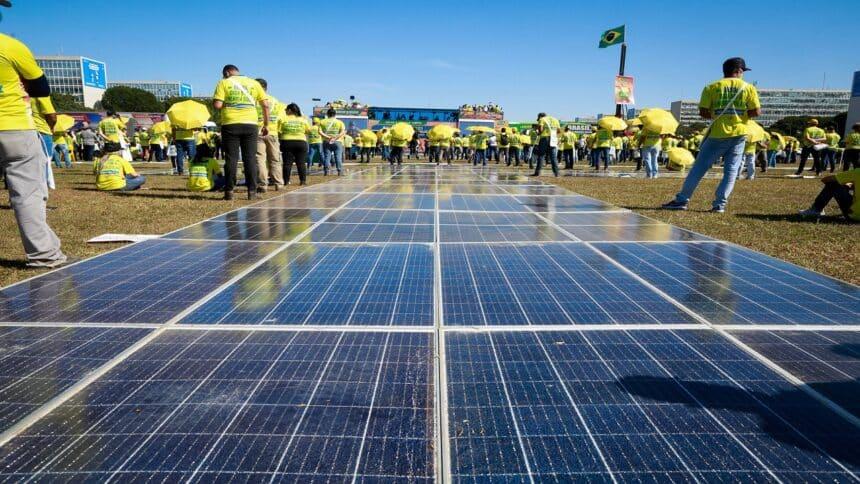 energia solar - manifestação - PL - congresso nacional