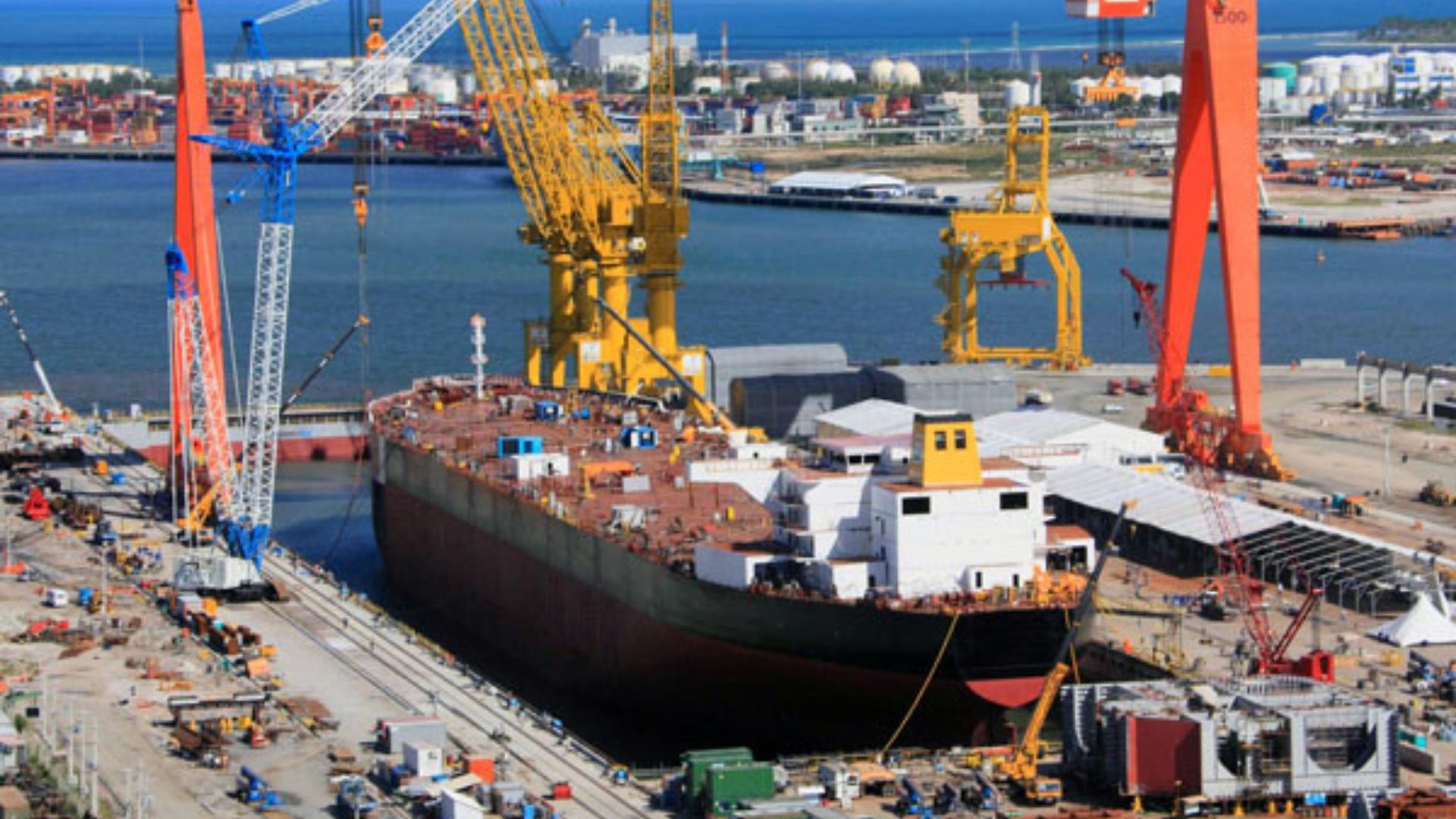 Construção – estaleiros – Rio de Janeiro – indústria naval – empregos