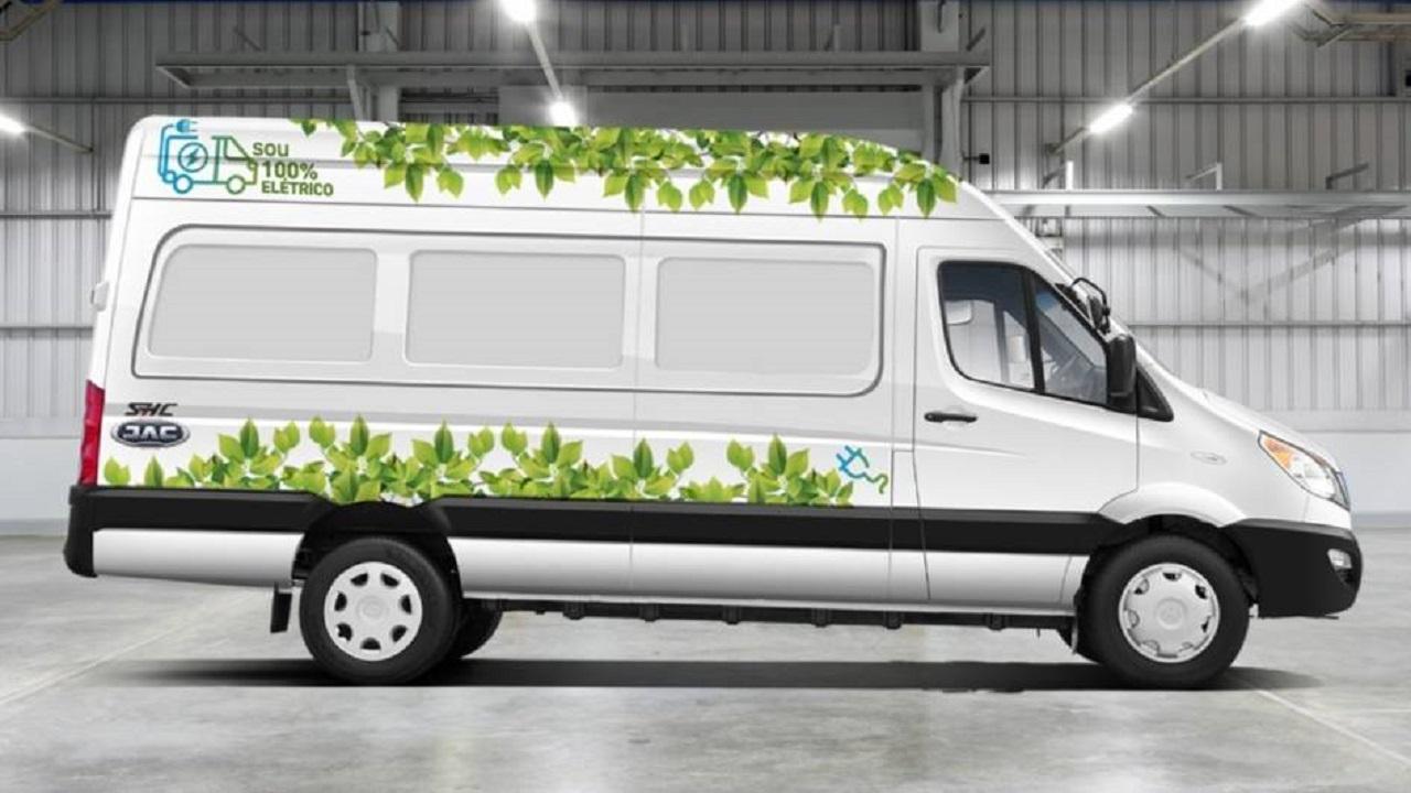 JAC Motors - Furgão - toneladas - transportar