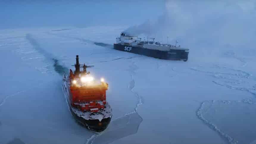 exploração de petróleo - rússia - empregos - navios - plataformas - construção naval - ártico - vostok