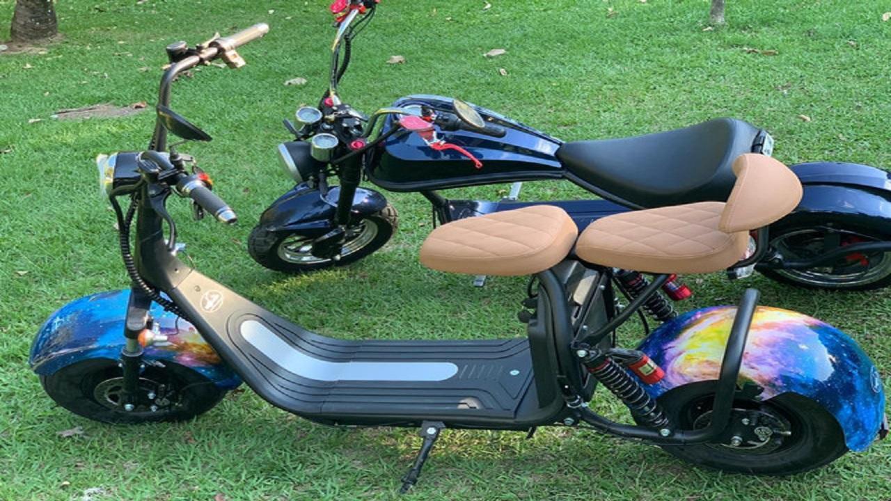 motos elétricas - scooters - Alibaba - importar