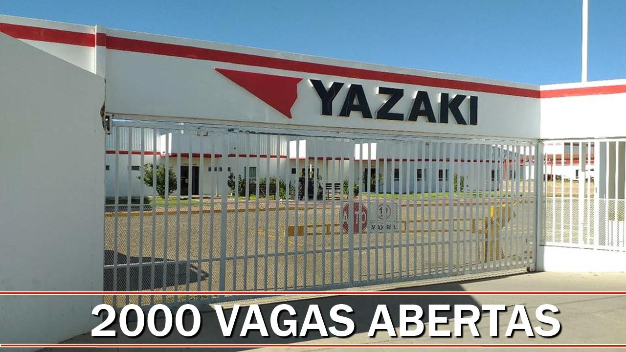 Yazaki - emprego - Fiat - Jeep - Pernambuco - produção - fábrica - chicotes elétricos - preço