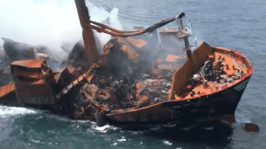 Navio - produtos químicos - Siri Lanka - barcos pesqueiros