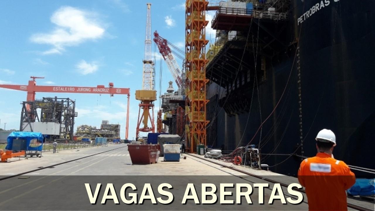 emprego - técnico - construção naval - estaleiro - brasfels - edison chouest - engenheiro - elétrica - mecânico - médico - soldador