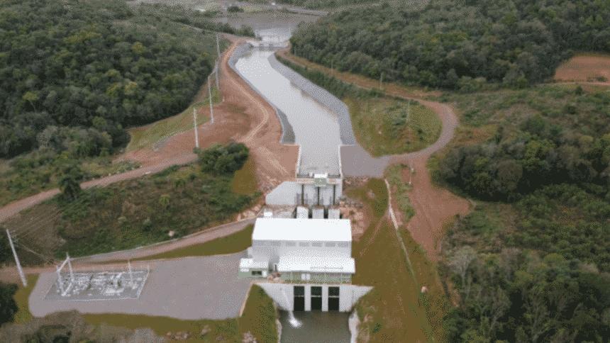 Usina – hidrelétrica – Rio Grande do Sul