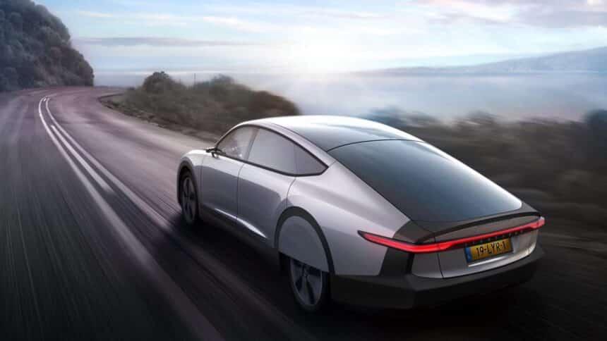 Carro elétrico - energia solar - autonomia -
