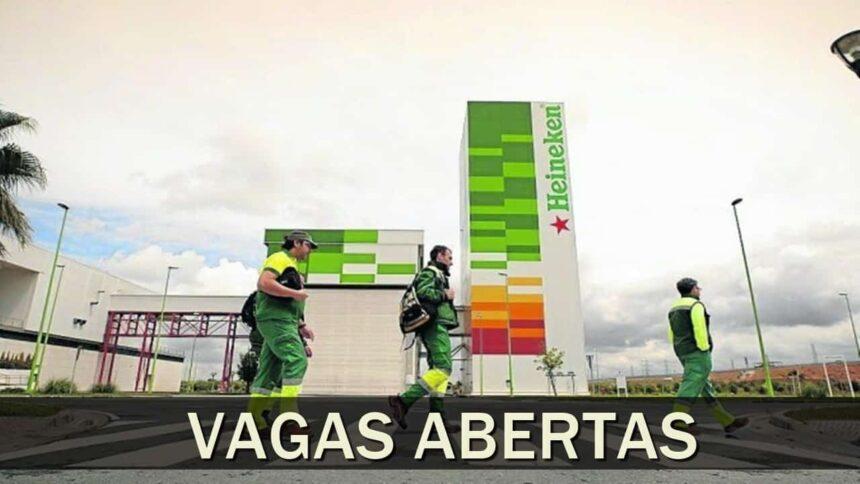 Heineken - Ambev - coca cola - vagas - emprego - cursos gratuitos e online de qualificação profissional