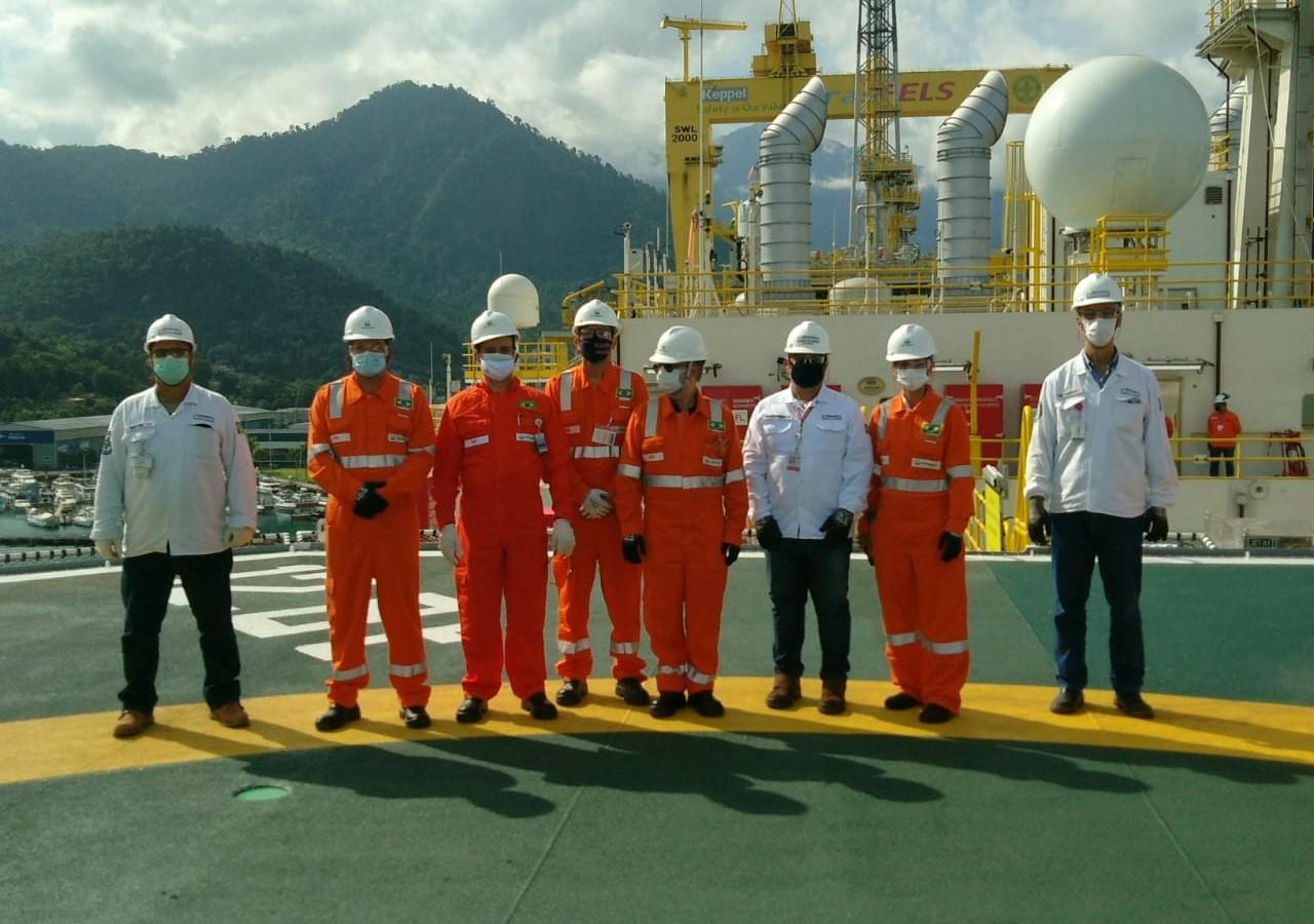 emprego - construção naval - estaleiro - brasfels - petrobras - angra dos reis - plataforma - FPSO Carioca - Comperj - gás