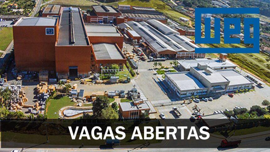 WEG curso gratuito - qualificação profissional - emprego - vagas - motor - turbina - aerogerador - transformador