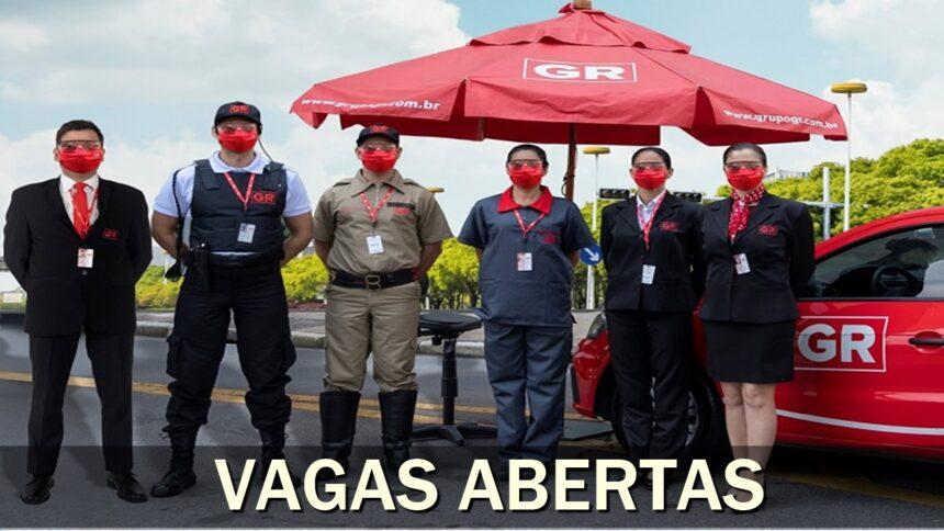 vagas de emprego - grupo GR - vigilante - porteiro - auxiliar - analista - encarregado - supervisor - gerente - ensino fundamental - ensino médio - rj - sp - ba - mg - pa - ce - AM