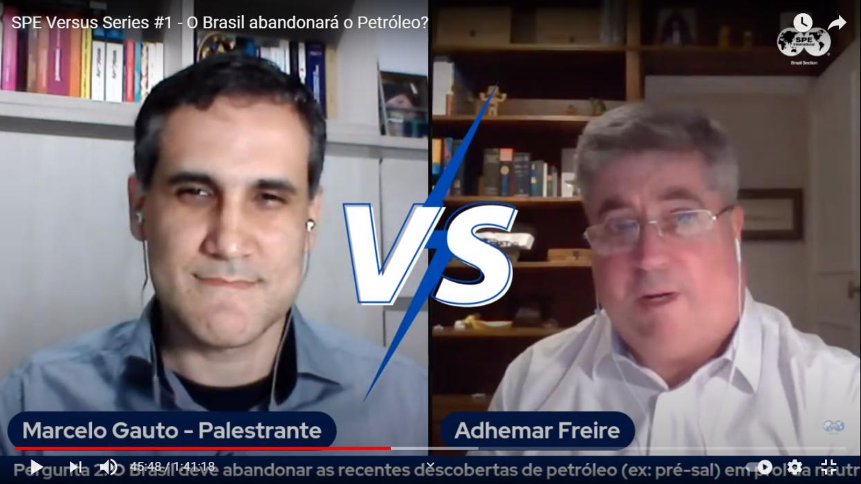 Marcelo Gauto e Adhemar Freire conflitaram suas ideias sobre os subsídios o Repetro em relação ao abandono do petróleo