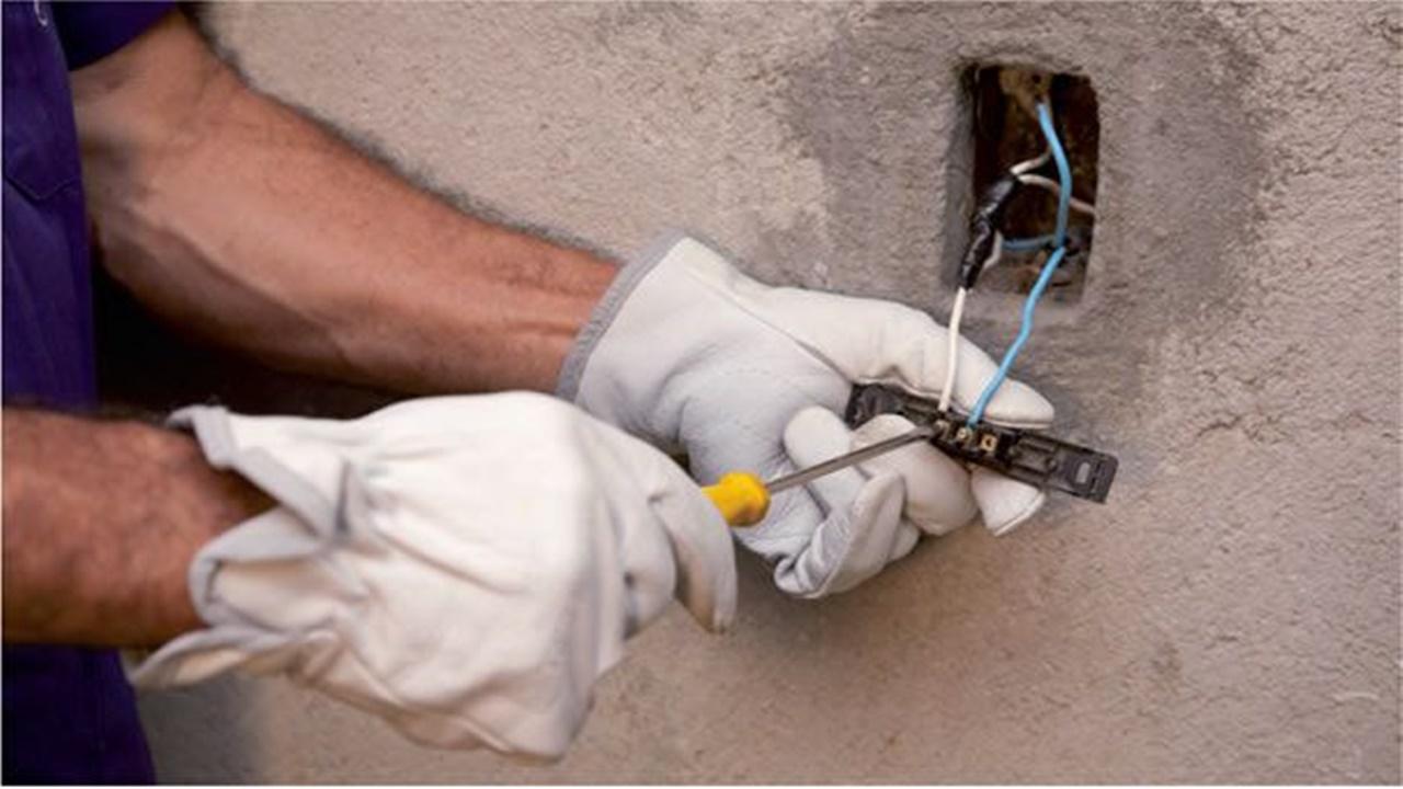 elétrico - choque - acidente - construção civil - vagas - emprego