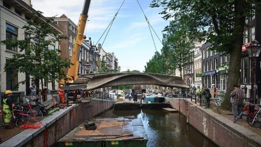 impressão 3d - aço - construção civil - arquitetura - infraestrutura