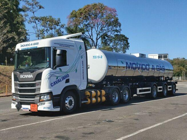 Caminhão – gás natural
