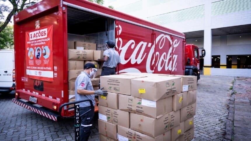 Coca-cola - FEMSA - vagas de emprego - SP - centro de distribuição