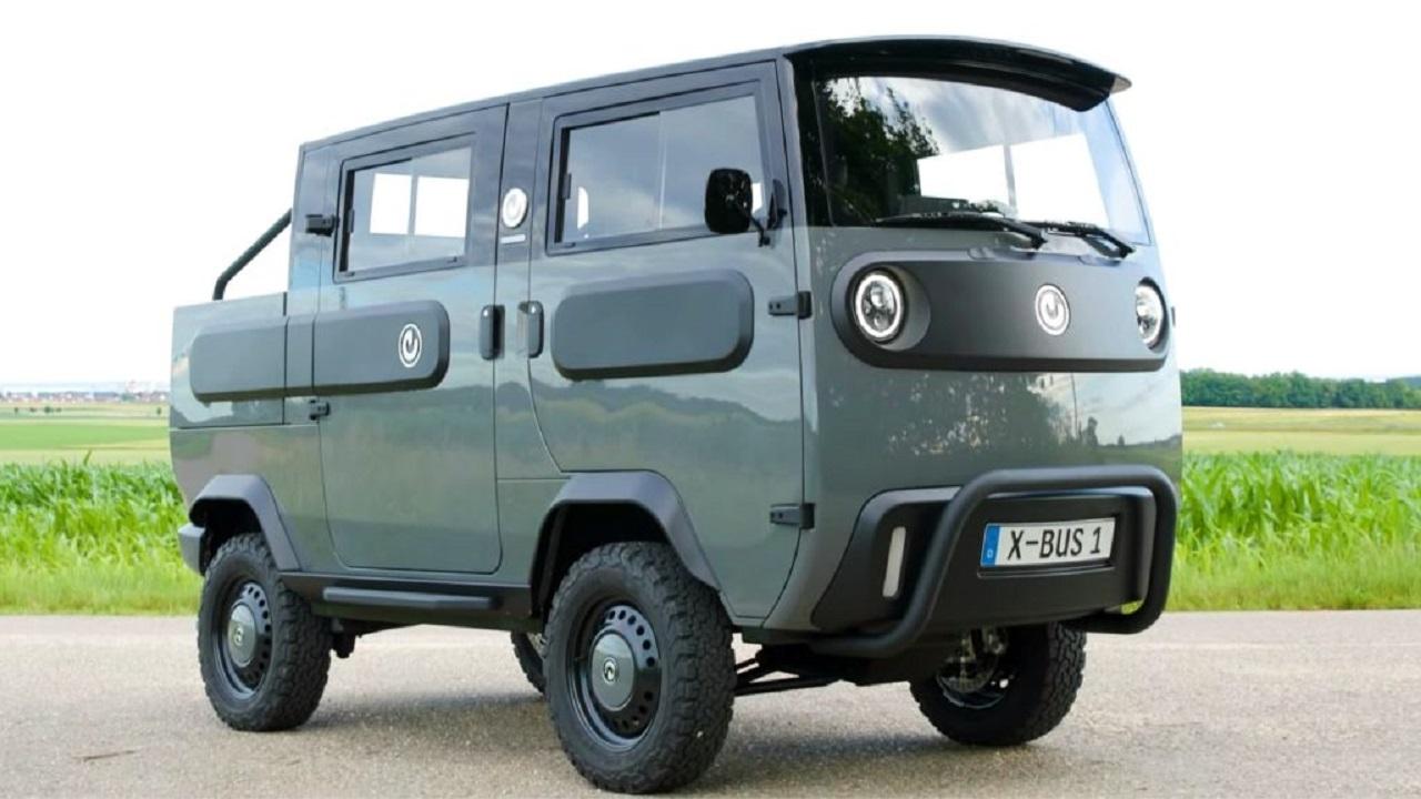 Carro eletrico - XBus - furgão - picape - motorhome -