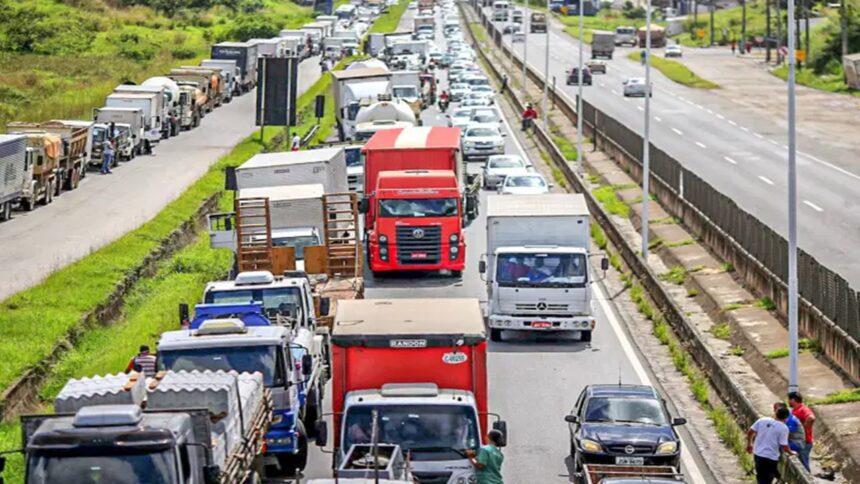 caminhoneiro - greve - diesel - acidente - CNH - CTB
