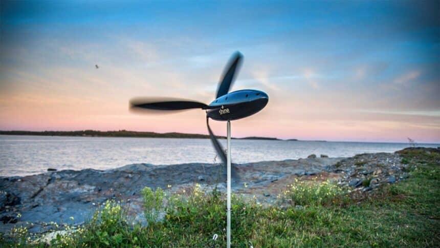 turbina - energia eólica - mochila- empresa - portátil