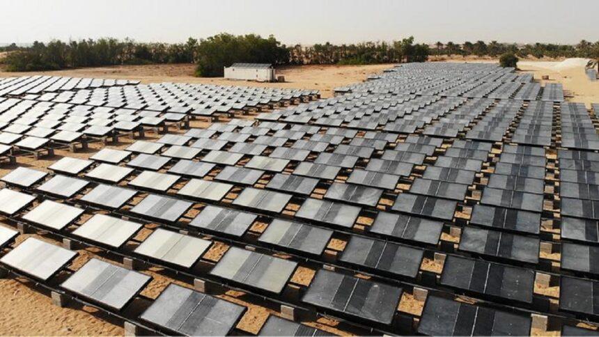 geradores - energia solar - água potável - deserto