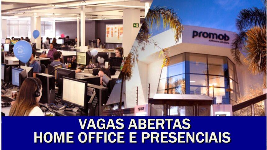 home office - trabalho remoto - rio - vagas de emprego - são paulo - sul - trabalhar em casa - tecnologia - técnico - ensino superior - ensino médio - promob