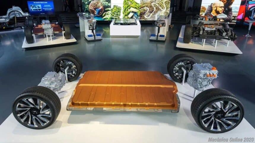 GM - general motors - carros elétricos - baterias