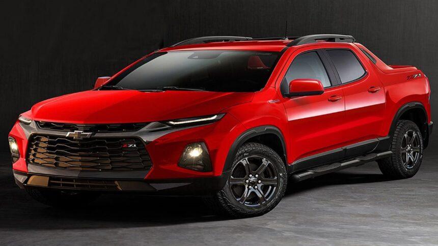 General Motors - Chevrolet Montana - Picape - SP - fábrica