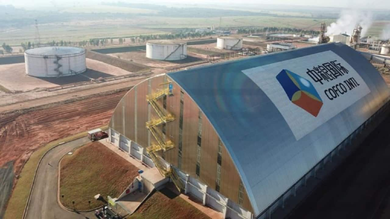 COFCO - duto - biodiesel - usinas - distribuidor