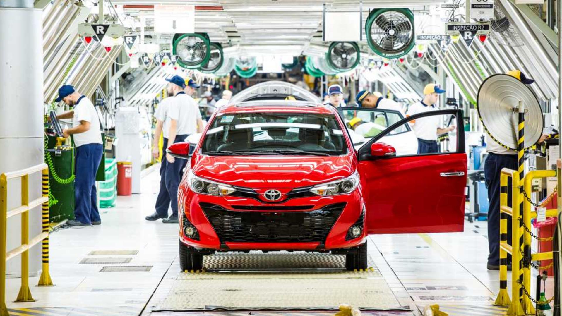 Toyota – fábrica – São Paulo – empregos