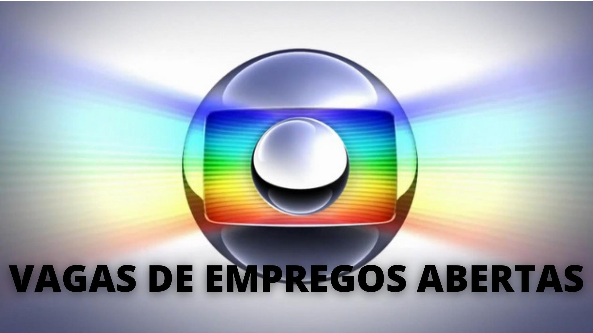 Globo - emprego – São Paulo – Rio de Janeiro