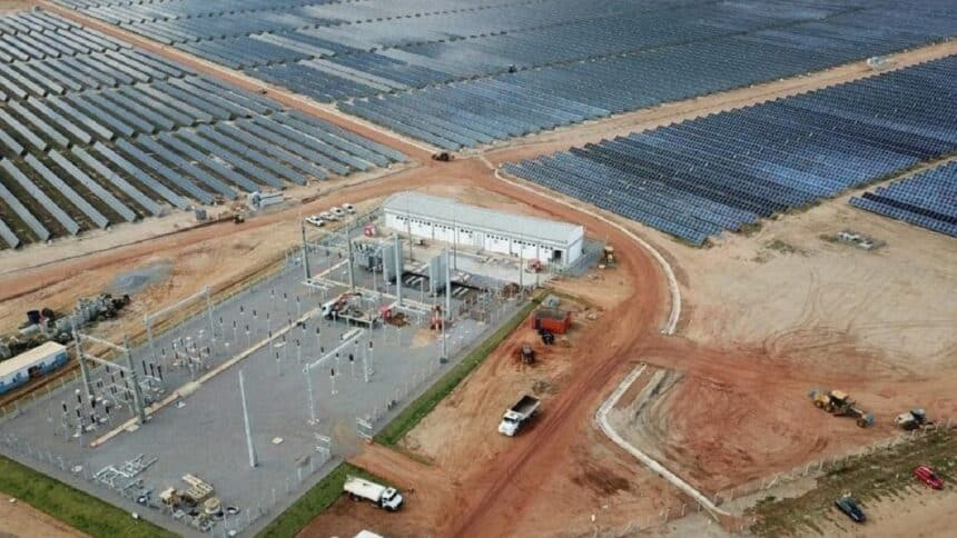 usina - energia solar - PE - vagas de emprego