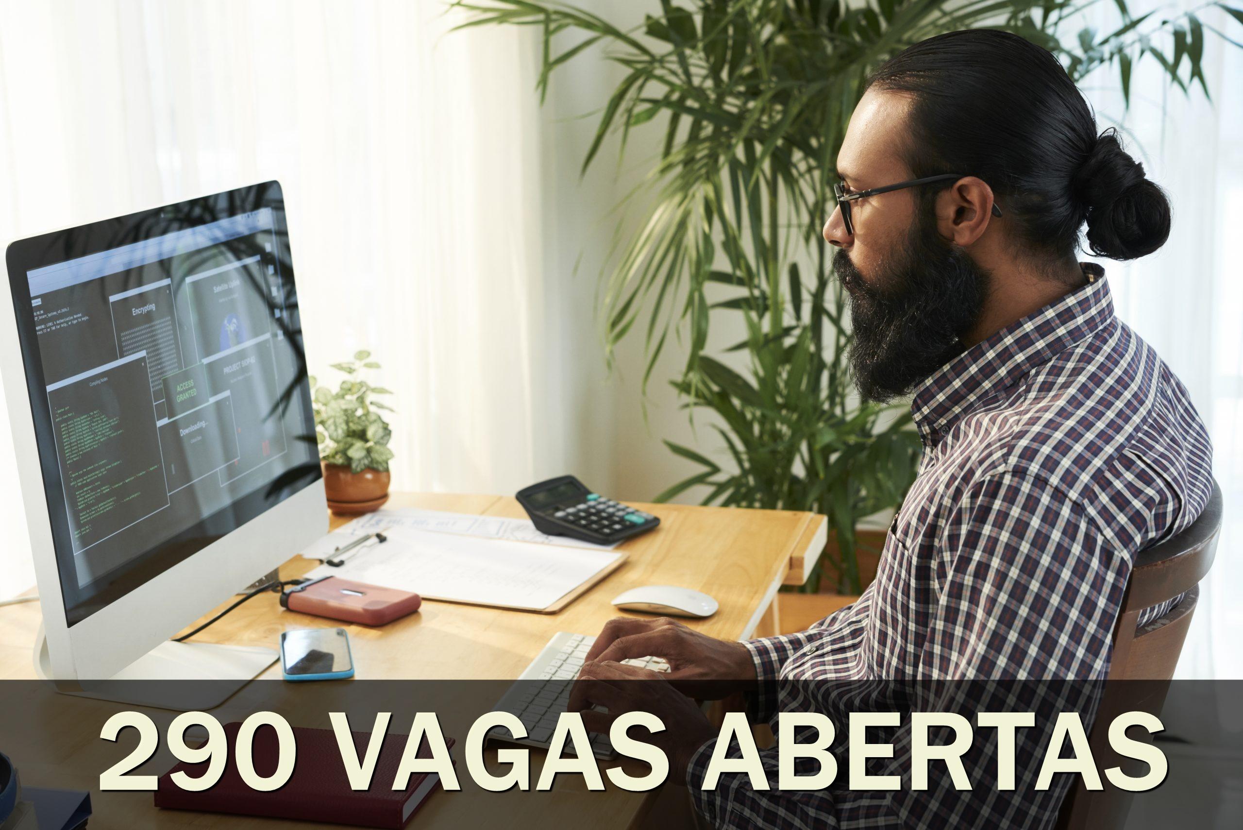 vagas - home office - emprego - técnico - sem experiência - estágio - mg - tecnologia - TI