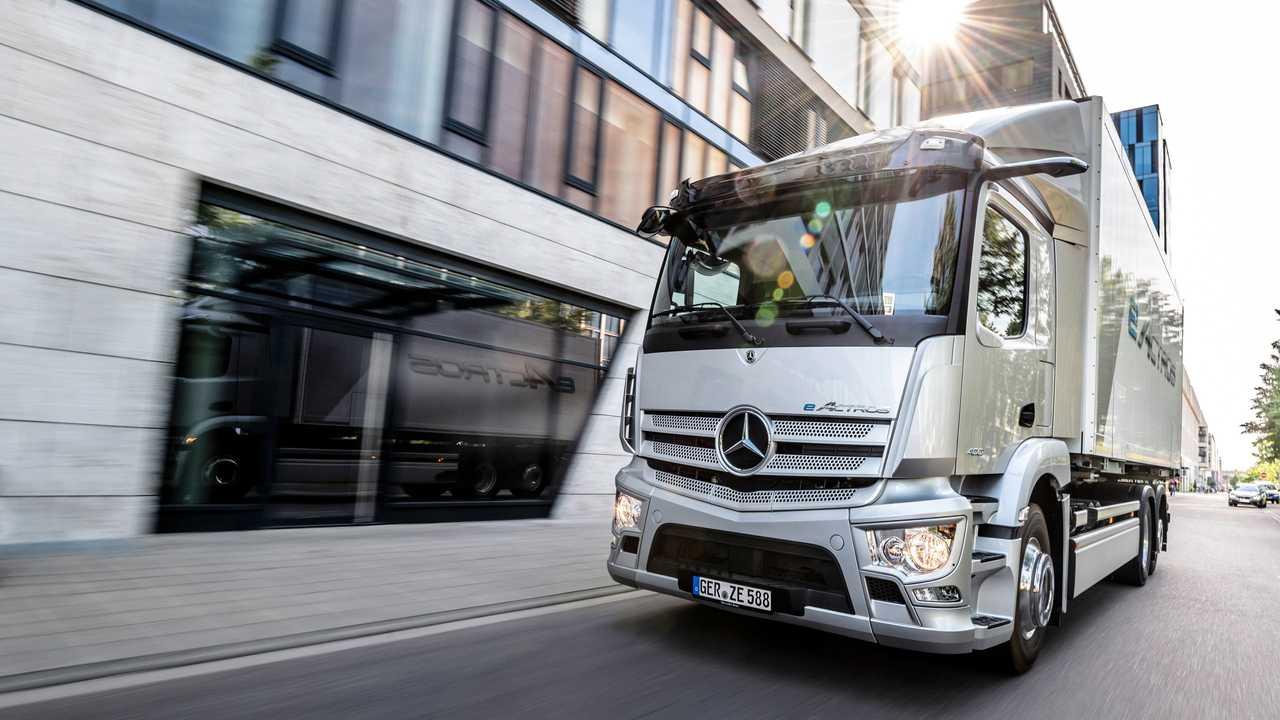 Mercedes-Benz - caminhão- caminhão elétrico - autonomia
